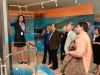 Komáromi vezetők látogatása