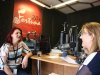 Szabó Ágota a Fortuna rádióban
