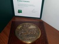 Héliosz díj Endrei Katalinnak