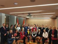Gál Katalin elnök előadása a Nagykövet Asszonyok Clubjának találkozóján