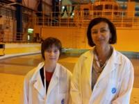 WiN különdíj - Szilárd Leó fizikaverseny lány résztvevője az erőműben